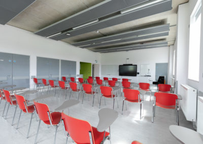 DCU St Patricks campus classroom style for 40 people
